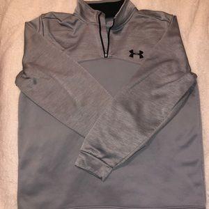 Men's light grey UA pullover